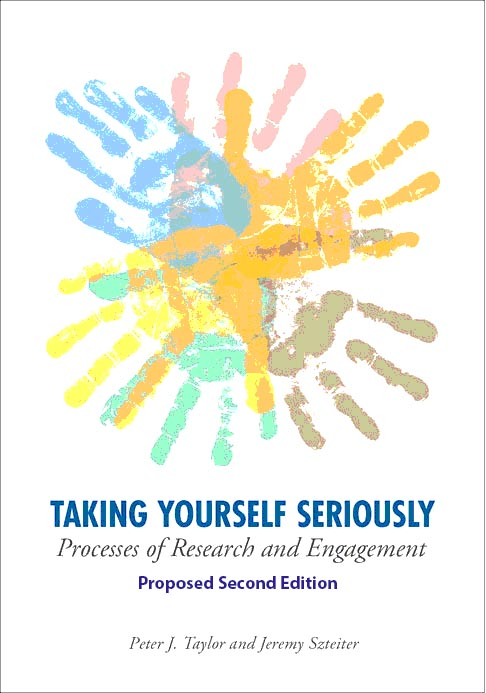 Book cover: Taking Yourself Seriously: Processes of Research and Engagement